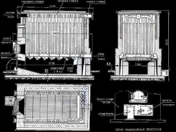 Инструкция ниисту-5 эксплуатации котла по